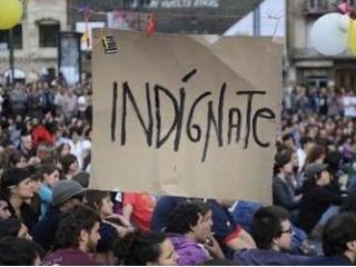 """Movimiento mundial de """"Indignados"""""""